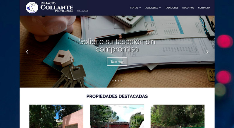 Software Solutions: Website Collante Properties
