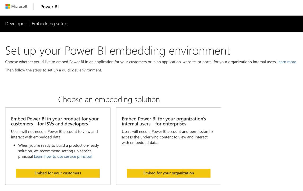 Power bi embedded fácil y rápido
